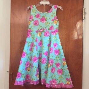 Cute summer dress for kids.